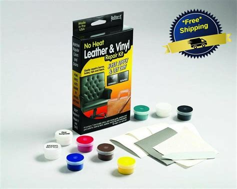 Vinyl Upholstery Repair by Leather Liquid And Vinyl Repair Kit Furniture Car Seat No