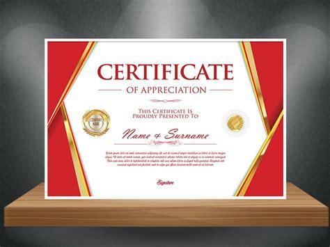 certificate mockup  template  ui ux designer mangat