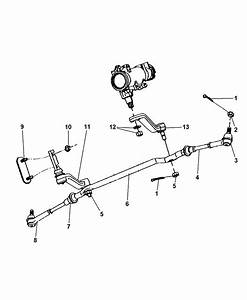 1998 Dodge Durango Linkage  Steering
