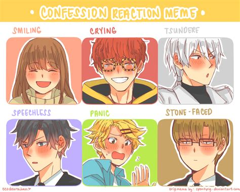 Mystic Messenger Memes - mystic messenger confession reaction by ecodeuraibeu on deviantart
