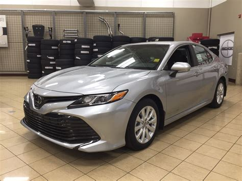 New 2018 Toyota Camry Le 4 Door Car In Sherwood Park, Ab