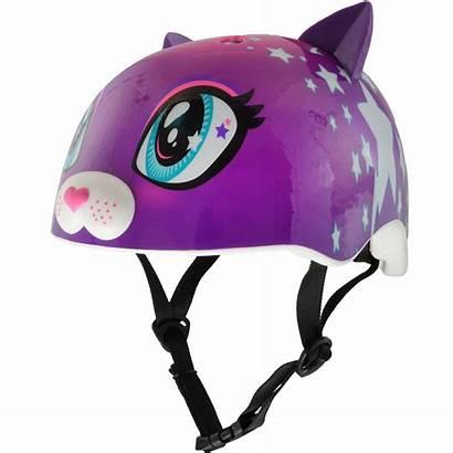 Helmet Bike Purple Raskullz Kitty Child Helmets