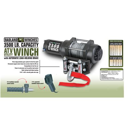 lbs atvutility electric winch  automatic load