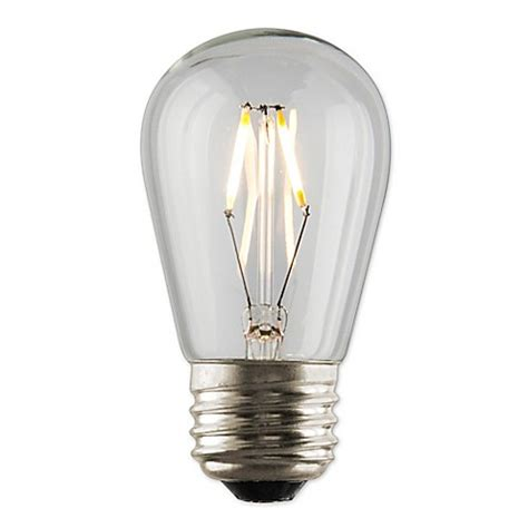 s14 light bulbs luminance nostalgia 1 watt filament led s14 light