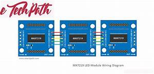 Bluetooth Controlled 8 U00d78 Led Max7219 Matrix Using Android