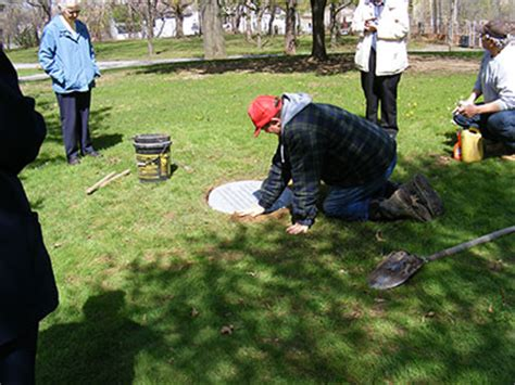 laying of marker at the site of mt st orphanage oh