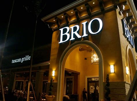 cuisine brio review brio tuscan grille s newest location tamarac