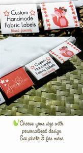 custom labels cotton fabric tags for branding With fabric made by labels
