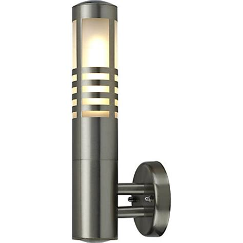 boxed homebase outdoor lighting turin wall light stainless