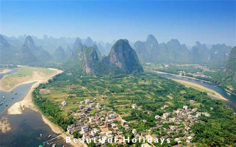 guangxi guilin karst mountains south china picture