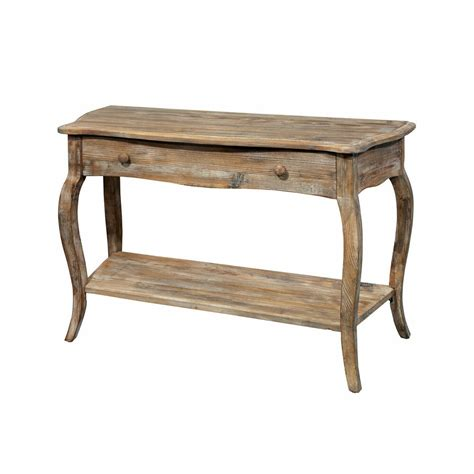rustic reclaimed wood sofa console table living room accent furniture lounge ebay