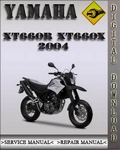 2004 Yamaha Xt660r Xt660x Factory Service Repair Manual