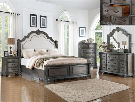 cm sheffield antique bedroom collection