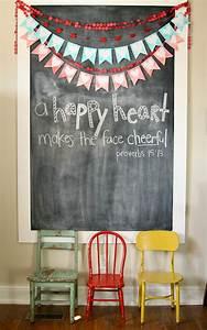 Valentine Chalkboard Decorations