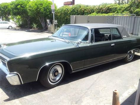 Sell Used Chrysler Imperial Crown Coupe1965 *mint