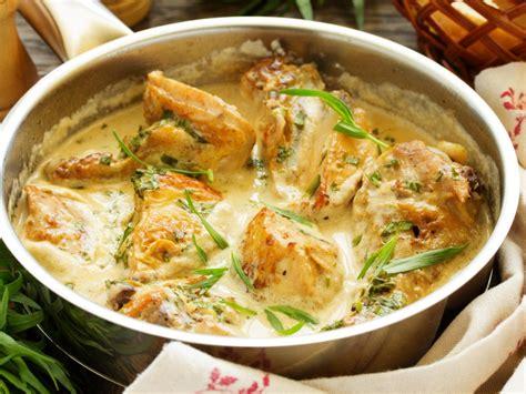 cuisiner filet de poulet poulet à l 39 estragon recette de poulet à l 39 estragon