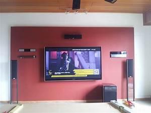 Fernseher An Die Wand : 65vt50 wand 1 65vt50 wand hifi bildergalerie ~ Bigdaddyawards.com Haus und Dekorationen