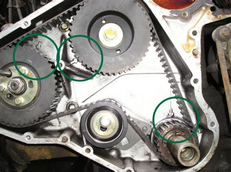 land rover discovery crankshaft timing belt drive