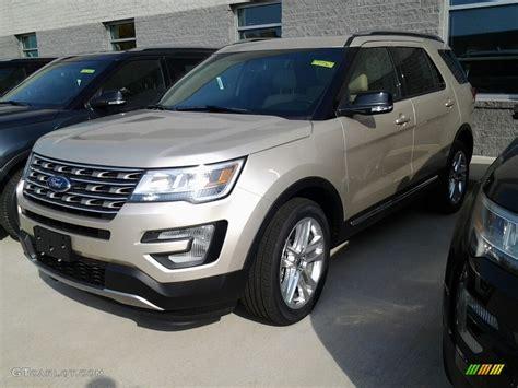 2017 White Gold Ford Explorer Xlt 4wd #116757616
