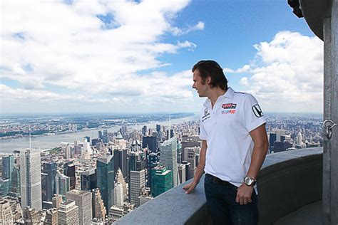 empire state building 103rd floor on top of the world with indy 500 winner dan whelan