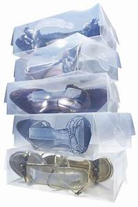 Boite à Chaussures Transparentes : bo tes chaussures transparentes l astuce du jour ~ Dailycaller-alerts.com Idées de Décoration