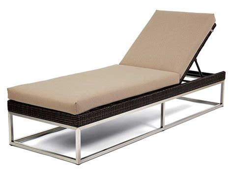 chaise luge caluco mirabella wicker cushion side adjustable chaise
