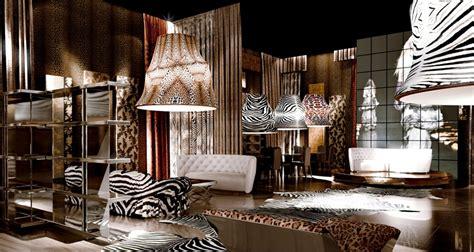 Animal Print Bedroom Decor by Roberto Cavalli Home Vogue It
