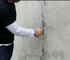 Reboucher Grosse Fissure Mur Exterieur : traiter les fissures sur un mur ext rieur galerie photos d 39 article 4 9 ~ Louise-bijoux.com Idées de Décoration