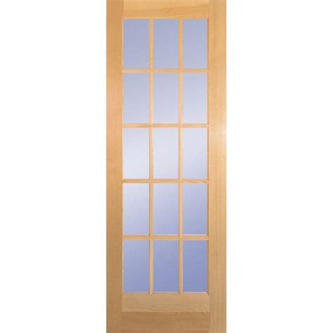 doors interior home depot door slab with sliding door hardwarebd6psufbk32slb the