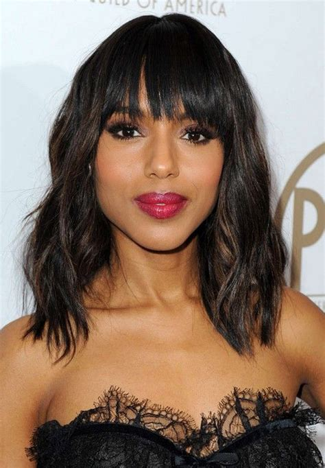 mid length hairstyles  thick hair feed inspiration