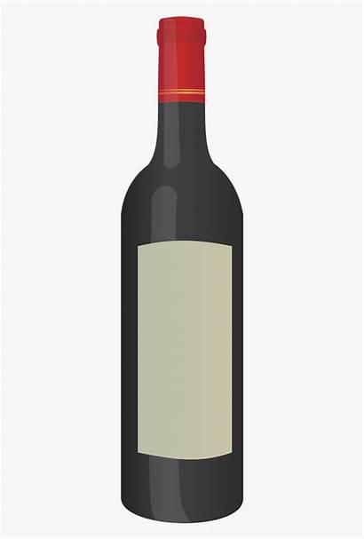 Wine Bottle Clipart Cartoon Clip Bouteille Cliparts