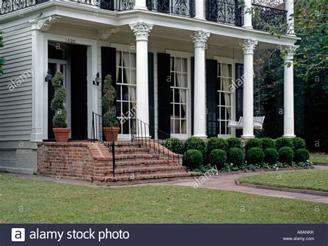 Southern Front Porch Whistler by Front Porch With Columns Of A Southern Style Mansion In