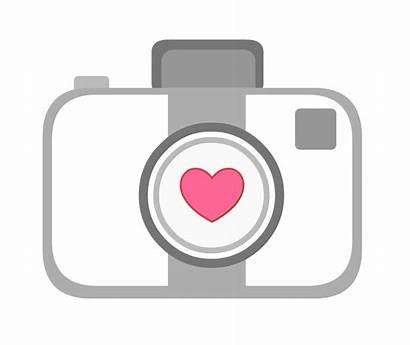 Clipart Camera Heart Cameras Vector Clipground Animated