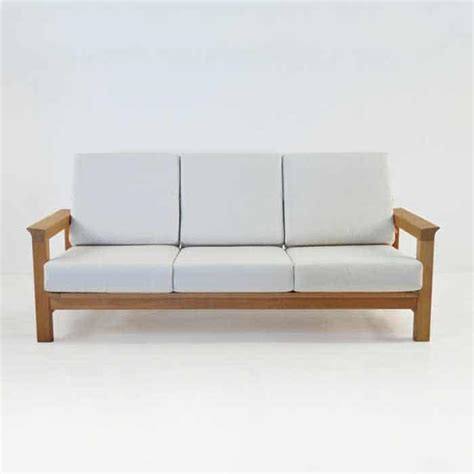 monterey teak outdoor sofa seater patio couch design