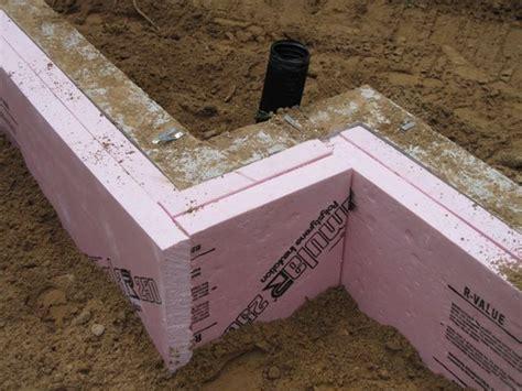 Insulated Slab Foundation  Slab Insulation  New Home