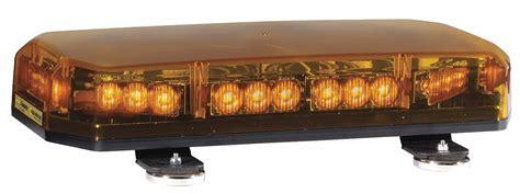 Code 3 Amber Low Profile Mini Light Bar, Led Lamp Type