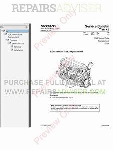 Volvo Truck Operator S Manual Maintenance And Engine Pdf Download