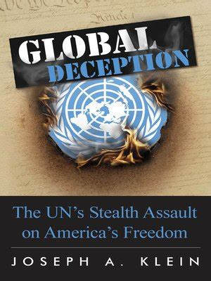 Global Deception by Joseph A. Klein · OverDrive: eBooks ...