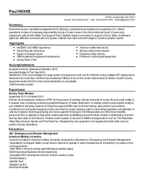 Infantryman Duties Resume by Professional Infantryman Templates To Showcase Your Talent Best Resume Writing Service