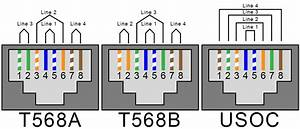 Legrand Cat6 B Modular Plug Wiring Diagram