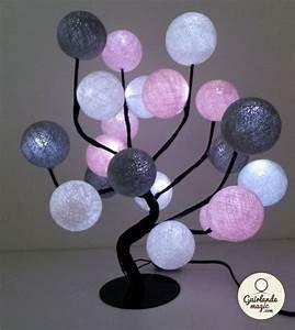 Guirlande Lumineuse Boule Ikea : guirlandes lumineuses personnalisables en coton d co luminaires ~ Teatrodelosmanantiales.com Idées de Décoration