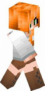 Snow Golem Girl Skin | Minecraft Skins