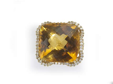 citrine diamond ring jewellery discovery