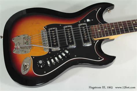 1965 hagstrom iii 12fret com