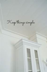 Best 25 crown moldings ideas on pinterest crown for Kitchen cabinets lowes with john deere wall art