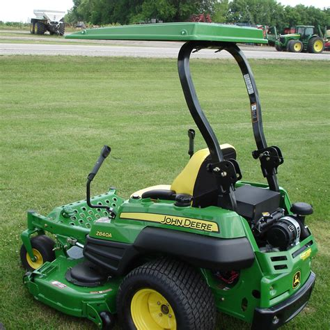 john deere l shade hardtop abs plastic canopy for zero turn mowers and