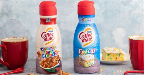 They wanted a make something that, first and foremost, tasted great and, just as importantly, delivered tangible health benefits. Coffee-Mate Is Launching Cinnamon Toast Crunch and Funfetti Creamers in the New Year ...