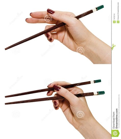 how to hold chopsticks hands holding chopsticks stock photo image of chinese 7413114