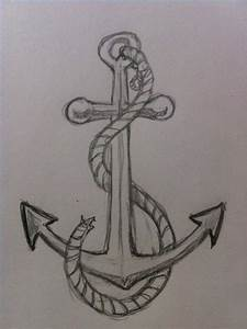 How to Draw an Anchor | Random | Pinterest | Drawings, Art ...