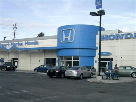 Airport Marina Honda Car Dealership In Los Angeles, Ca